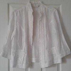 Chico summer white jacket
